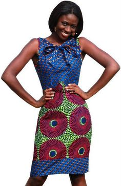 African style ~African Prints, African women dresses, Kitenge, Ankara, Kente, African fashion styles, African clothing, Nigerian style, Ghanaian fashion ~DK