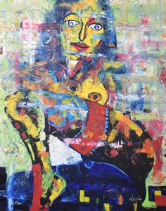 Oil on canvas, 100 x 80 x 2 cm, 2017 Art Expo, Vsco, Moma, Insta Art, Portrait, Oil On Canvas, Saatchi Art, Contemporary Art, Original Paintings