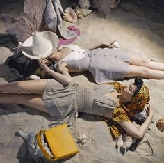 vintage everyday: Beyond the Sea – Fabulous Vintage Beach Images from Vogue from between the 1940s and 1960s