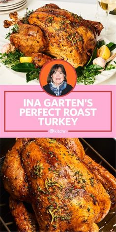 We tried Ina Garten's perfect roast turkey and brine to see how her version of the Thanksgiving classic compared to Alton Brown, Martha Stewart, and Ree Drummond. garten thanksgiving recipe I Tried Ina Garten's Perfect Roast Turkey (and Brine) Ree Drummond, Best Turkey Recipe, Roast Turkey Recipes, Martha Stewart Turkey Recipe, Whole Turkey Recipes, Martha Stewart Thanksgiving, Best Roasted Turkey, Martha Stewart Recipes, Baked Turkey