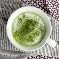 Make your own matcha latte at home. With a trick for getting foamy lattes without a steamer or foaming wand.