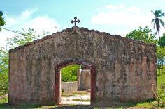 Church Ruins, Coiba Island Prison. For more, visit GreenGlobalTravel.com!