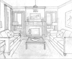 Pin by Drawing 8 on perspective: Rooms/buildings in 8 | Point ...