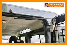 This top mounted Land Rover Rear Door Gas strut