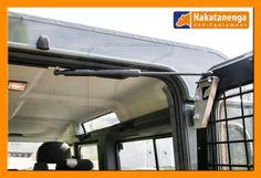 This top mounted Land Rover Rear Door Gas strut
