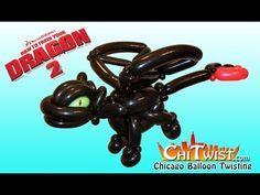 How to Train Your Night Fury Dragon Balloon Animal