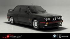 NEW CAR RELEASE : the BMW E30 M3 Sport Evolution    To take the definitive road-going edition of the first-generation M3 onto the track, get the BMW E30 M3 Sport Evolution today on Simraceway.