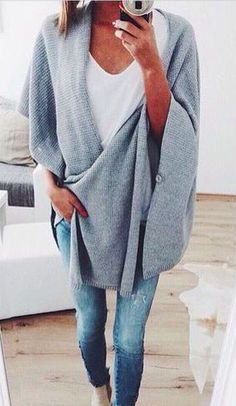 blanket sweaters + basics