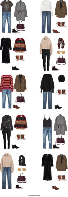 What to Pack for Milan, Italy Packing Light List Outfit Option 1-10 #packinglight #travel #travellight #packinglist #capsule #capsulewardrobe #livelovesara