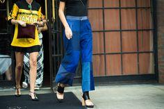 New York Fashion Week Spring 2015 Day 2 - New York Fashion Week Spring 2015 Street Style   W Magazine