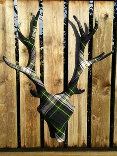 Small Tartan Stag by DaughterOfTheStag on Etsy