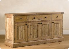 Rustic sideboard from anawhite. DIY : Rustic sideboard from anawhite. Dining Room Furniture, Pallet Furniture, Furniture Plans, Rustic Furniture, Side Board, Dining Room Server, Buffet Server, Dining Area, Rustic Sideboard