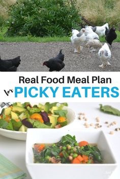 This week's real food meal plan for picky eaters includes roast beef, ham and pea soup. In other words, lots of prep ahead meals for a busy summer week!