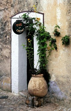Sainte Agnes; (Alpes Maritimes), Provence. France.