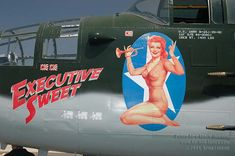 Vintage Aircraft Nose Art: The Executive Sweet