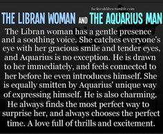 Aquarius woman dating a libra man