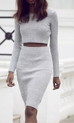 2 piece sweater dresses, sexy sweater dresses, grey sweater dresses, new arrival sweater dresses,