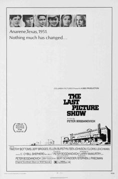 Last Picture Show Movie Poster 24x36