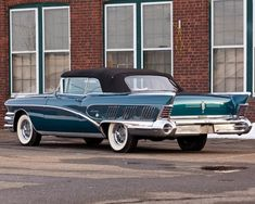 Buick Limited Convertible 1958.