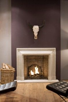 Italienisch Natursteinkamin House, Fire Places, Coin, Home Decor, Elegant, Houses, Stones, Homes, Haus