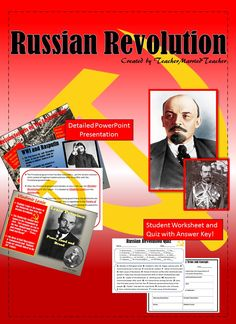 Time to teach about the Russian Revolution!  Check out this great resource to get students interested in this time period!