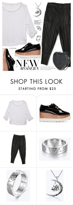 """""""New Modern"""" by paycustom-fashion ❤ liked on Polyvore featuring STELLA McCARTNEY, modern, polyvoreeditorial, polyvorefashion and polyvoreset"""