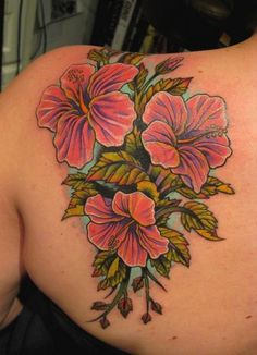 What does hibiscus tattoo mean? We have hibiscus tattoo ideas, designs, symbolism and we explain the meaning behind the tattoo. Trendy Tattoos, Love Tattoos, Beautiful Tattoos, Picture Tattoos, Body Art Tattoos, Tatoos, Faith Tattoos, Badass Tattoos, Music Tattoos