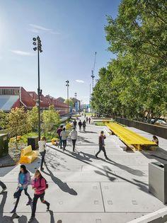 The Goods Line by ASPECT Studios «  Landscape Architecture Works | Landezine