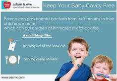 Keep your #baby #cavity free  ADAM & EVE Specialized Medical Centre PO Box : 32866, Near Royal Rose Hotel Pink Building (501) Floor 01 Electra Street,Abu Dhabi,UAE  Contact Us : +971 2 676 7366 / +971 52 1555 366 / 055 1555 366  Email : info@aesmc.com visit us - www.aesmc.com