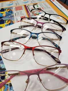 Classy eyeglasses at Debbie Mozelle Designer Optical , are they cute enough for you ? Round Glass, Eyeglasses, Frames, Classy, Eyes, Colors, Cute, Design, Fashion
