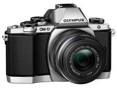 Olympus OM-D E-M10 Kamera (Live MOS Sensor, True Pic VII Prozessor, Fast-AF System, 3-Achsen VCM Bildstabilisator, Sucher, Full-HD, HDR) inkl. 14 bis 42mm Standard-Objektiv (manueller Zoom) silber - http://kameras-kaufen.de/olympus/olympus-om-d-e-m10-kamera-live-mos-sensor-true-pic-af