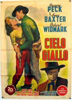 Original Film Title:  YELLOW SKY  Poster Title:  CIELO GIALLO  Director:  WILLIAM A WELLMAN  Year:  1948  Film Nationality:  USA  Genre:  WESTERN