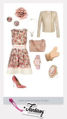 Check out this outfit created on Fantasy Shopper, what do you think? #vintage