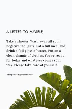 A letter to myself. #empowering #women #selflove #empoweringwomennow