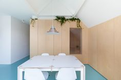 Completed in 2015 in Amsterdam, The Netherlands. Images by Wim Hanenberg. How to convert a small former social housing apartment in the city centre of Amsterdam into a spacious urban loft? Bureau Fraai, a design firm from...