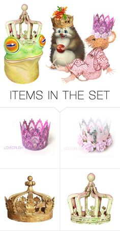 """""""The Royal Court"""" by sjlew ❤ liked on Polyvore featuring art"""