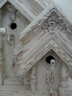 <3 Beautifully detailed bird houses