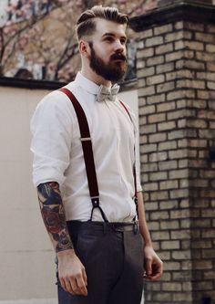 5 Faultless Tips on How to Wear Vintage Men's Clothing Hipster Outfits, Hipster Fashion, Boy Fashion, Mens Fashion, Nice Outfits, Suit Fashion, Suspenders Outfit, Jeans With Suspenders, Hipster Stil