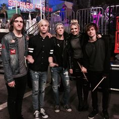 We're backstage with @officialR5!!! They're next to Rock The Red Kettle & we are so excited!
