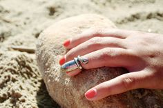 Gem Dandies: 14 Snaps Of The Most Crush-Worthy Baubles In D.C. - Nail Ring - #VoiceOfStyle #refinery29