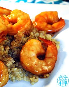 This honey glazed shrimp uses a marinade of honey, teriyaki sauce along with pineapple to make for an amazing seafood dinner.