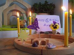 making birthday ring decorations