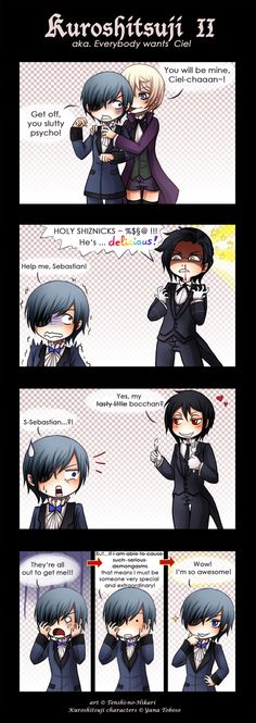 Kuro - Everybody wants Ciel by Tenshi-no-Hikari.deviantart.com on @deviantART