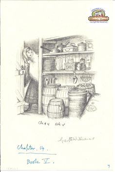 Garth Williams Sketch