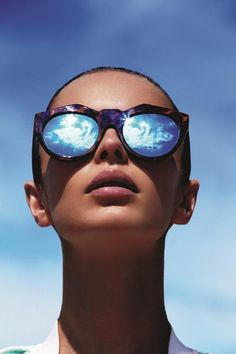 modelmeth: Le Specs Summer Noir SS14 by Todd Barry - LET IT BE