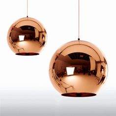 Tom Dixon new smaller size Copper Shade at propertyfurniture.com