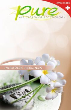 Paradise Feelings. Sensitive, dreamy, exotic. The Fragrance/Filter Cartridge contains: Air filter, odour neutralisers and fragrance oils. Fragrance is not heated, so it doesn't break down. No undesired chemical reactions. The lifetime of one Cartridge is up to 720 hours!