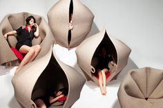 Step inside a world of comfort: the Hush Pod