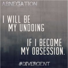 Abnegation - the selfless.