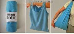 Hacer bolsas con camisetas viejas